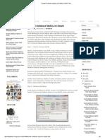 Koneksi Database MySQL Ke Delphi _ Delphi Tutor