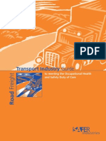 Road Transport Industry Guide