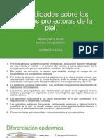 Generalidades Sobre Las Funciones Protectoras de La Piel