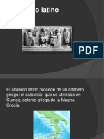 El Alfabeto Latino