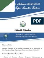 Informe de Labores 2012-2015