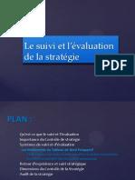 Le suivi et l évaluation de la stratégie .pptx