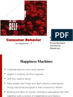 Consumer Behavior Assignment