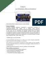 Características y Uso de Elementos Del Microcontrolador
