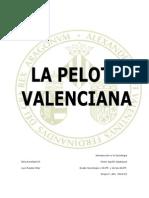 Trabajo Pelota Valenciana