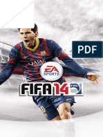 Fifa-14-Manuals Sony Playstation 3 Pt BR