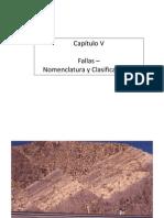 Cap v Fallas - Nomenclatura & Clasificaciones