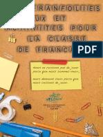 Actividades para la clase de francés