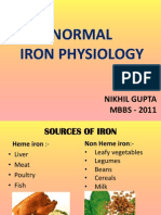 Iron Physiology