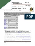 edu 290 plan of action assignment