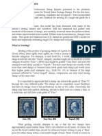 Grading of stamps