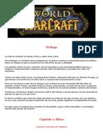 LIBRO DE WAR CRAFT WOW FANS CAP 1