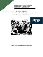 Baigorri Paro, mercado de trabajo y formación ocupacional en el campo extremeño 1992