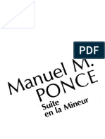 Suite in a Minor Ponce