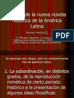 La nueva Novela Histórica en América Latina