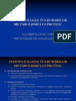 Curs 8 Fiziopatologie Proteic