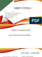 Lesson #26 - GCF and LCM