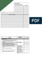 Check List Auditoria Iso90012008