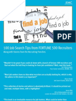 100 Job Search Tips From FORTUNE 500