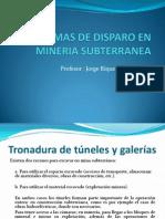 Diagramas de Disparo en Mineria Subterranea