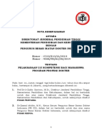 (4) MoU Dikti-IDI Uji Kompetensi 16 Juni 2014