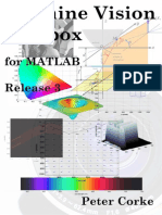 Machine Vision Toolbox for Matlab