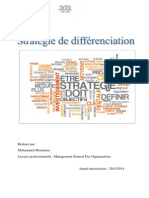 Stratégie de Differenciation