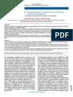 Complicaciones postquirúrgicas en pacientes con defectos cardíacos congénitos