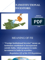 Foreign Institutional Investors