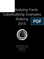 Cyberbullying Tactics 2015