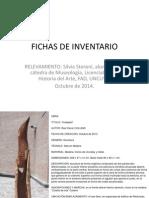 Fichas de Inventario 1° Simposio de Escultura-UNCUYO