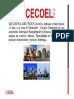 Presentación CECOEL S.a.C.