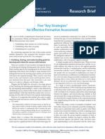 research brief 04 - five key strategies