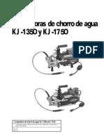 RIDGID (Destapadora KJ-1750) Manual Operaci--n.