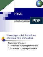 Pemrograman HTML