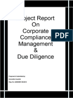 Project Report_Corporate Compliance & Due Diligence (1)