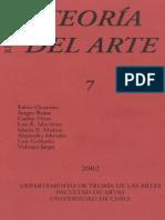 Teoria Del Arte, Varios
