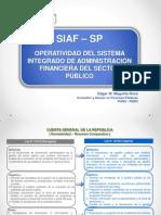 OperatividadSIAF SP