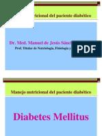 Manejo Nutricional Del Paciente Diabético- 2014