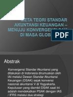 Meta Teori Standar Akuntansi Keuangan – Menuju Konvergensi