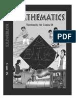 NCERT Class 9 Mathematics