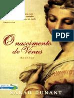 Sarah Dunant - O Nascimento de Vênus