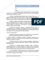 Autismo DSM V / Español
