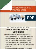 Personas Morales y Su Personalidad