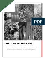 Trabajo - Costo de Produccion