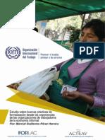 Estudio Buenas Practicas de Formalizacion Trabajadores Informales PERU-MEXICO