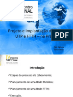 Projeto e Implantao de Redes Utp e Ftth Na Prtica Por Tiko Kamide - Isp Shop