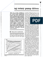 Sizing Rotary Pumps Drives