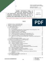 Instrucción Marcado CE Ventanas y Puertas Exteriores Peatonales-Version 6