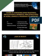 Presentación Conexiones precalificadas SMF